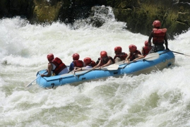 New Year's Special: Rafting in Rishikesh with deluxe cottage stay