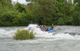 Weekday rafting with suite stay (8 pax)
