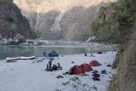 Ganga Rafting Expedition for Beginners
