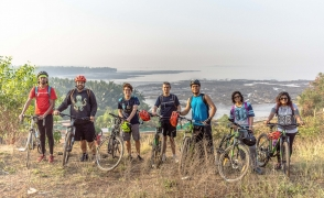 Cycling in Gorai and Uttan
