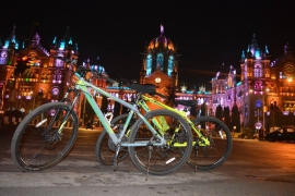 Midnight Cycling in Mumbai