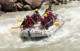 Day Rafting on the Ganges: Kodiyala-Laxman Jhula 35 kms