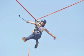 Human catapult+Extreme adventure at Pavna
