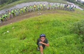 Karjat to Kondhane Cycling Trip