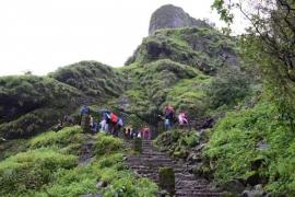 Trek to Korigad Fort