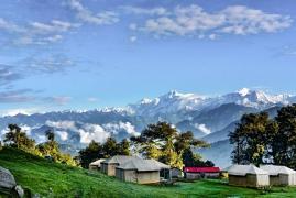 Swiss tent camping in Chopta (1n2d)