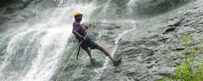 Dhodani Waterfall Rappelling Trip