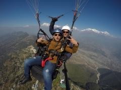 Tandem Paragliding in Pokhara, Nepal