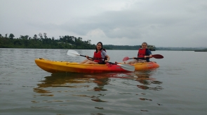 Day kayaking at Port Blair