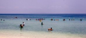 Snorkelling at Elephant Beach, Andamans
