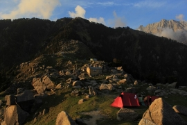 New Year trek to Triund