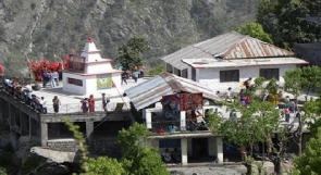 Trek to Guna Devi temple