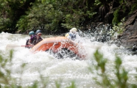 Weekend white-water rafting in Kolad