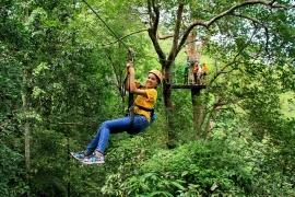 Ziplining in Chiang Mai, Thailand