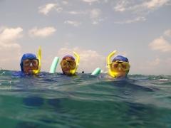 Snorkelling in Pattaya, Thailand
