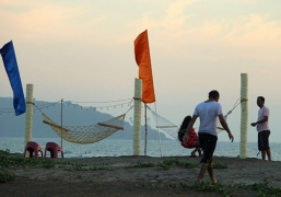 New Year Beach Camping near Alibaug
