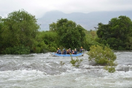 Rafting day trip in Kolad (weekday)