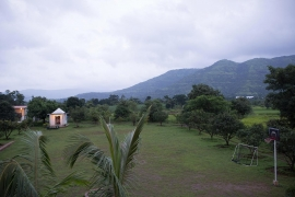 Camping in Mulshi with cottage stay
