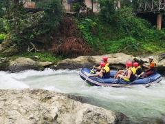 Ziplining, ATV ride and rafting in Phuket, Thailand