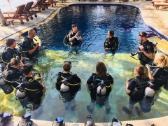 Discover Scuba Diving in Amed, Bali (shore)