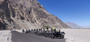 Srinagar-Leh-Nubra Valley-Turtuk-Manali motorbiking (11 days)