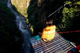 Camping + Giant Swing and Bungee Jump in Nepal