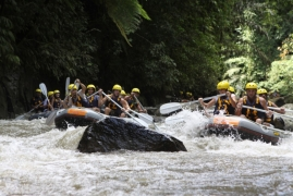 Rafting in Ayung River, Bali