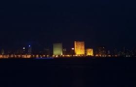 Midnight Cycling in South Mumbai