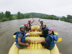 Kolad Rafting Trip with Hobbit House Stay (Weekend)
