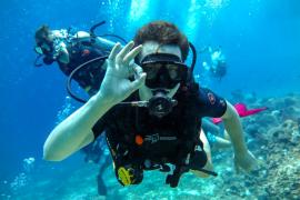 PADI Scuba Diver Course in Gili Meno, Bali