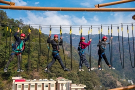 Level 1 and Level 2 Rope Course in Rishikesh