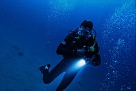 Night Diving in Phuket, Thailand