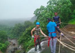 Bhivpuri-Bekre Waterfall Rappelling Trip