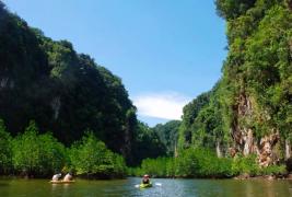 Kayaking in Phang Nga Bay, Phuket