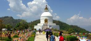 World Peace Pagoda Mountain Biking Tour