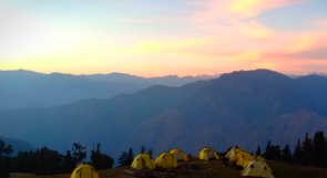 Camping in Mussoorie