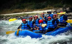 Bhote Koshi River Rafting Trip