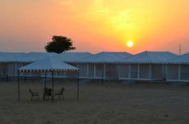 Jaisalmer Desert Camping (Luxury Swiss Tent)