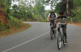 One day cycling through cardamom hills at Periyar