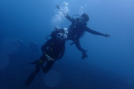 Discover Scuba Diving in Blue Lagoon, Bali