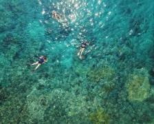 Snorkelling in Blue Lagoon, Bali