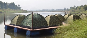 Camping in Floating Tents at Karjat (Weekday)