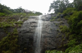 Waterfall Rappelling in Panshet-Ex Pune-deleted