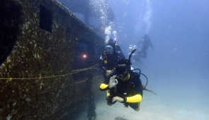 King Cruiser Wreck Fun Dives in Phuket