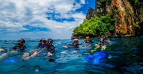 Fun Diving in the Phi Phi Islands Phuket
