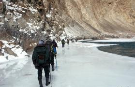 Trek to chadar