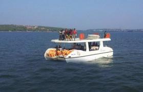 Adventure Boat Cruise in Goa