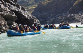 River Rafting in Rishikesh - 26 kms