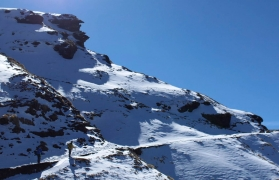 Snow trek to Chopta, Deoriatal, Chandrashila Peak