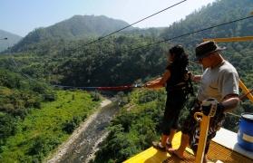 Giant Swing in Rishikesh